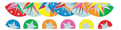 Stars Foil Novelty Stickers