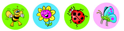Spring Dynamic Dots for Teachers to Record Progress